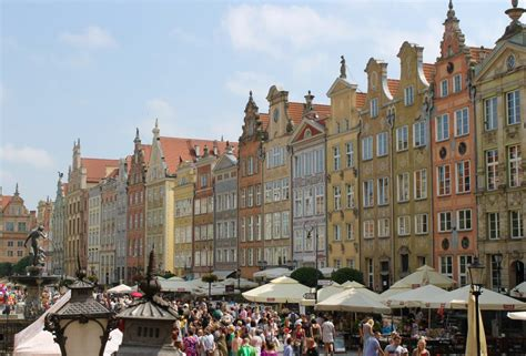 Gdansk; Poland: A Smaller and More Colourful Version of