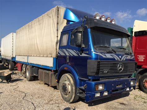Used Mercedes-Benz 2448 sk flatbed / Dropside Year: 1992