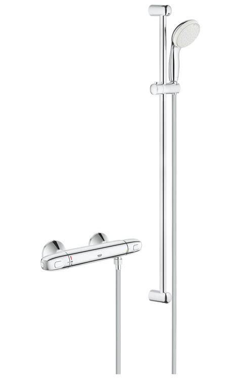 Grohe Grohtherm 1000 Thermostatic Shower Mixer Valve With