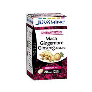 Maca ginseng gingembre - Comparer 36 offres