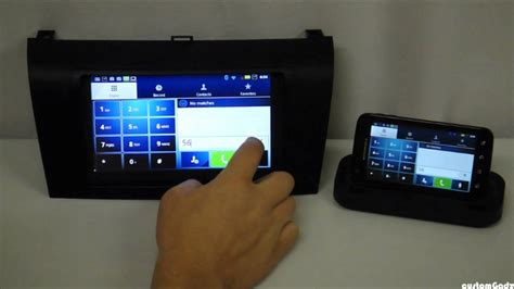 Android Ultimate In-Car OEM System - Remote Bluetooth