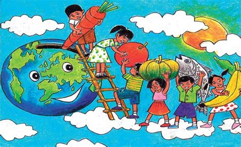 World Food Day Poster contest of FAO (Age 5-19), 2020
