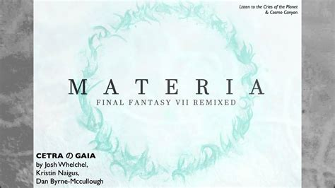 """CETRA の GAIA from Final Fantasy VII Soundtrack (""""Cries of"""