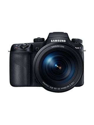 Samsung NX1 Smart Compact System Camera Body Only, 4K UHD