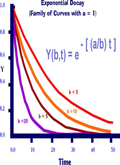 Exponential Model a=1