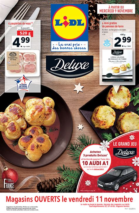 Lidl – Produits Deluxe   Cataloguespromo