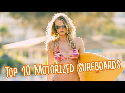 Surfboard Flies Above The Water - YouTube