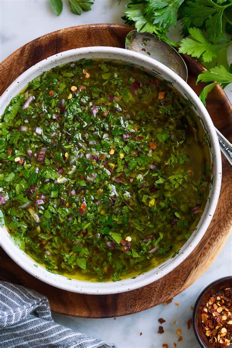 Chimichurri Sauce Recipe {Most Flavorful!} - Cooking Classy