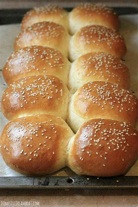 Homemade Hamburger Buns - How to make your own soft