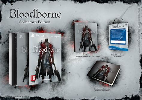 Bloodborne collector's editions and pre-order extras