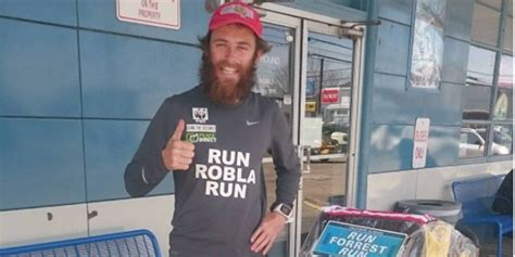 This Real-Life Forrest Gump is Running Across America for