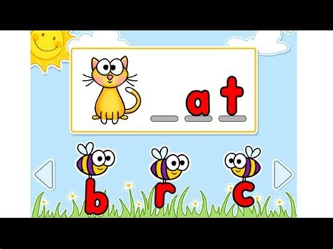 Busy Bees Interactive PowerPoint Game -- Beginning Sounds
