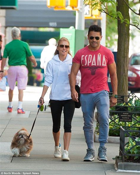 Kelly Ripa is all smiles as she return to Live without