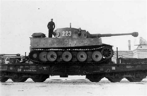Early Tiger I of the Schwere Panzer Abteilung 503, tank