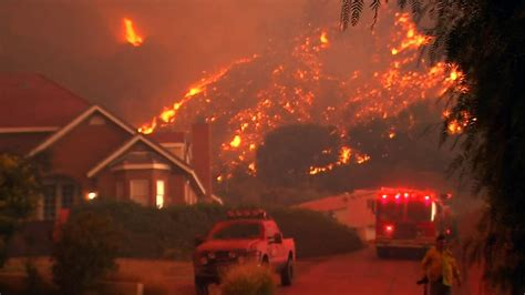 Flash Flood Warnings In Effect for Wildfire Scarred Areas