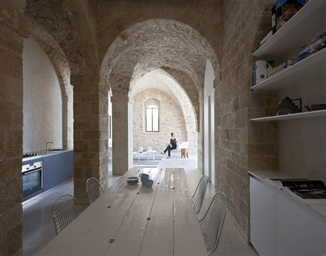 Contemporary Apartment In Jaffa Restored From Historical