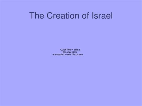 PPT - The Creation of Israel PowerPoint Presentation - ID