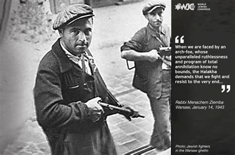 Warsaw Ghetto Uprising Quotes