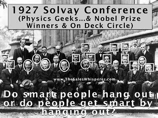 1927 Solvay Conference | In 1927, 29 of the smartest