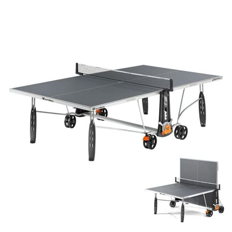 CORNILLEAU Crossover 250S Free Table Tennis Table - Grey