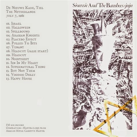 100 greatest bootlegs: #26 SIOUXSIE & THE BANSHEES - Tiel