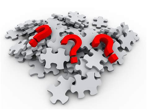 puzzle pieces and red question mark | 2040 Digital LLC