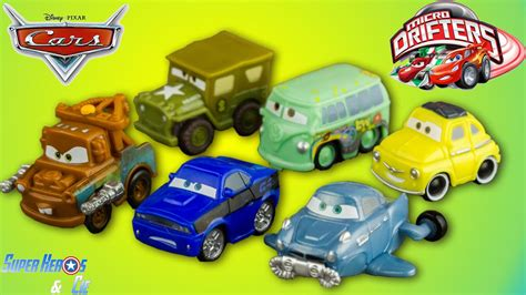 Disney Cars Micro Drifters 6 Voitures Cars 2 Radiator