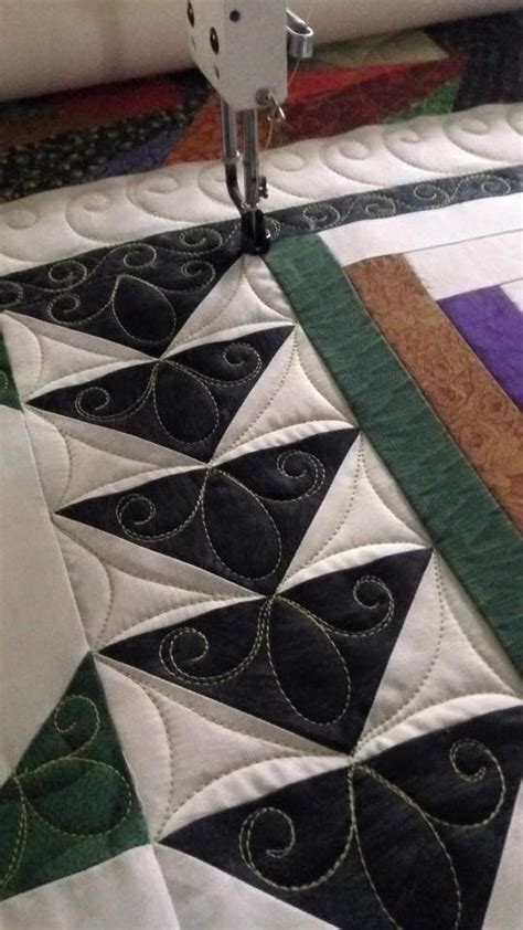 Nice idea for quilting flying geese