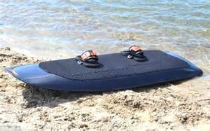 Radinn's electric wakeboard lets you glide along at speeds