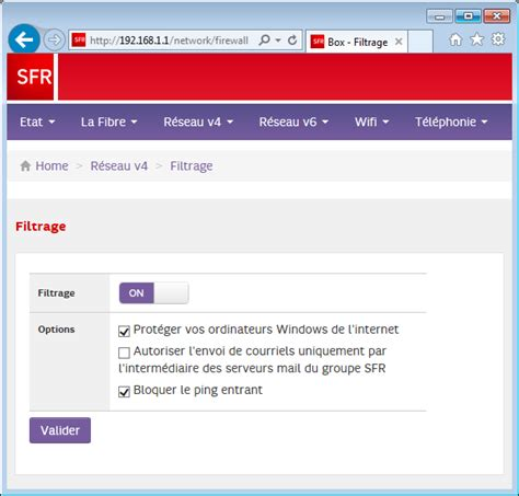 RED by SFR - Conservation adresse mail free - Assistance