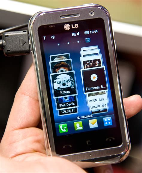 LG Arena LG-KM900 first impression - Esato Special from