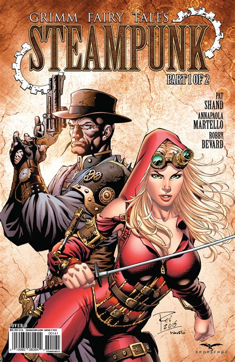 Comic Book Preview: Grimm Fairy Tales: Steampunk #1