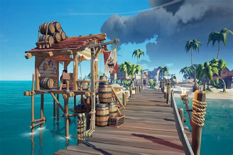Sea of Thieves : Customisation, compagnon et loot boxes