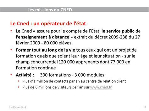 formation continue cned - Une formation professionnelle